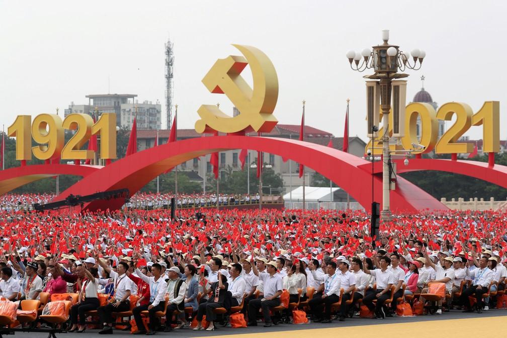 100 anos PC chinês